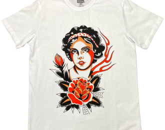 Rose Lady T-shirt